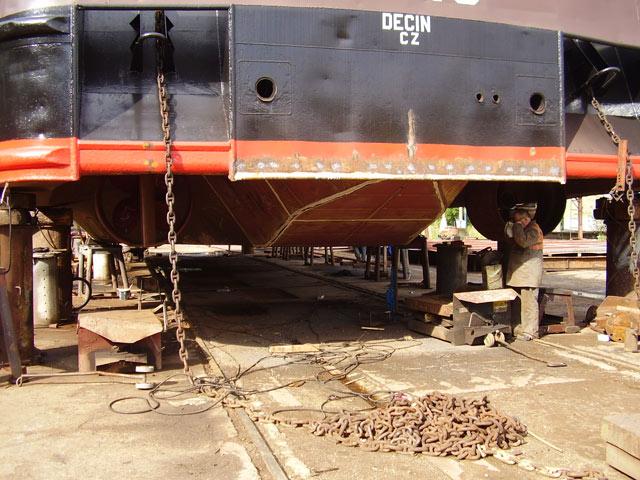 Oprava lodí